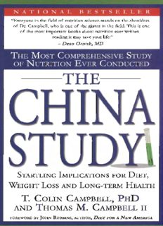 The China Study by Thomas Campbell
