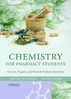 Chemistry for Pharmacy Students