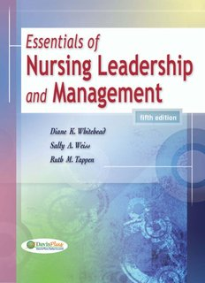Essentials of Nursing Leadership Management