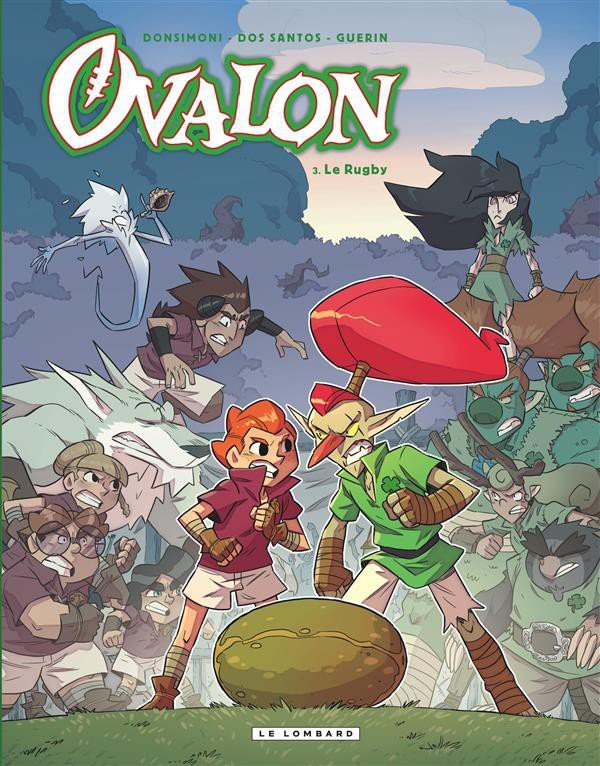 Ovalon – Tome 3 : Le rugby